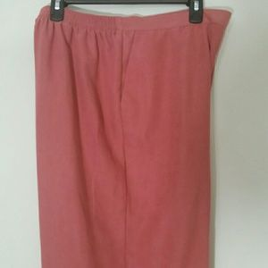 Alfred Dunner Dusty Rose pants